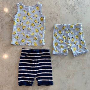 Old Navy / Bananas PJ set + extra shorts